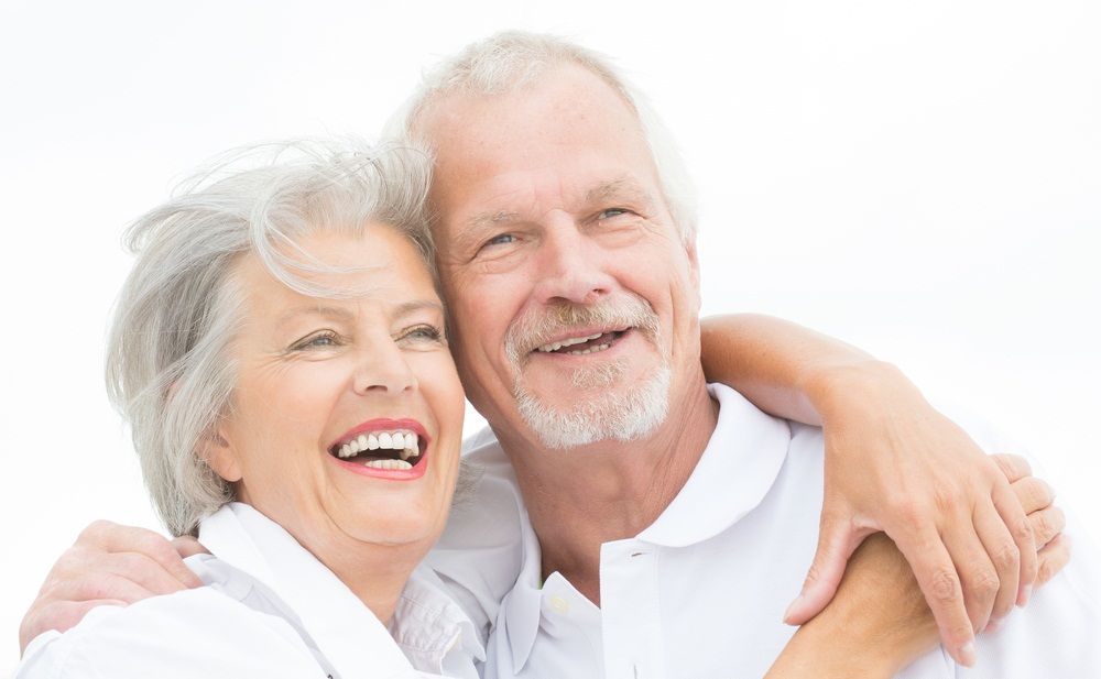 An elder couple is in a good health condition. - Shutterstock